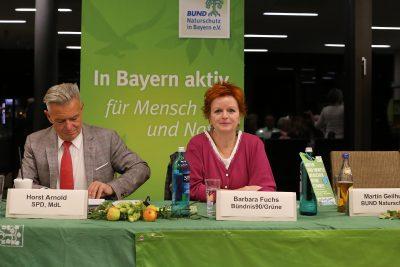 Podiumsdiskussion beim Bund Naturschutz
